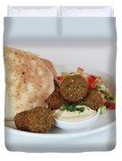 Falafel Balls Duvet Cover