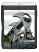 Falkirk Wheel Duvet Cover