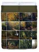 Fall - A Montage Duvet Cover
