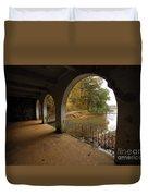 Fall Arches Duvet Cover