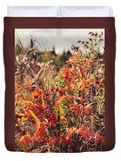 Fall Around  Duvet Cover
