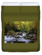 Fall At Midnight Hole Duvet Cover
