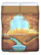 Fall At The Meadows Duvet Cover
