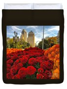 Fall At The Peabody Duvet Cover