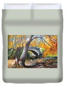 Fall At Three Sisters Islands Duvet Cover
