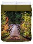 Fall Bridge Duvet Cover