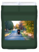 Fall Buggy Duvet Cover