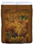 Fall Cluster Duvet Cover