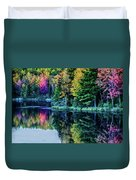 Fall Color Explosion Duvet Cover