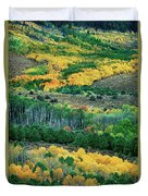 Fall Color In The Eastern Sierras California Duvet Cover