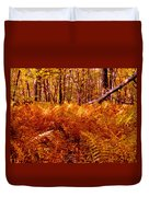 Fall Color In The Woods Duvet Cover