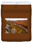 Fall Colors - Lake Of The Clouds Duvet Cover