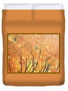 Fall Colors At Cape May Duvet Cover
