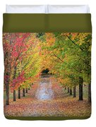Fall Colors In Oregon Duvet Cover