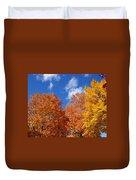 Fall Colors In Spokane Duvet Cover