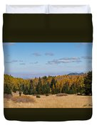 Fall Colors In The Inner Basin Duvet Cover