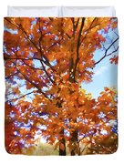 Fall Colors Looking Awesome Duvet Cover