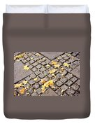 Fall Crossroads Duvet Cover by JAMART Photography
