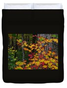 Fall Decorating Duvet Cover