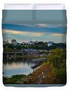 Fall Evening In Richmond Duvet Cover