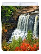 Fall Falls Duvet Cover