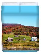 Fall Farm No. 7 Duvet Cover