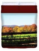 Fall Farm No. 8 Duvet Cover