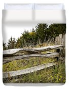 Fall Fencing Duvet Cover