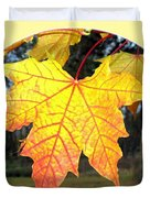 Fall Finery 2 Duvet Cover