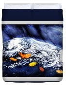 Fall Flotilla Duvet Cover