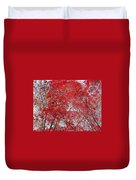 Fall Foilage Duvet Cover