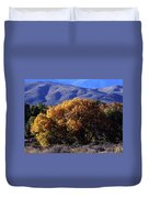 Fall Foliage And Hills, Carson City Duvet Cover