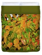 Fall Foliage II Duvet Cover