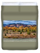 Fall Foliage Near Ghost Ranch Duvet Cover