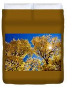 Fall Foliage Near Ruidoso Nm Duvet Cover