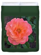 Fall Gardens Full Bloom Harvest Rose Duvet Cover