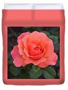 Fall Gardens Rosh Hashana Rose Duvet Cover