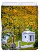 Fall Graves Duvet Cover