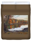 Fall In 7 Lakes Duvet Cover