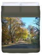 Fall In East Texas Duvet Cover