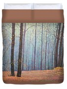 Fall In Forest Duvet Cover