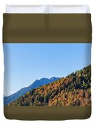 Fall In Gstaad Duvet Cover