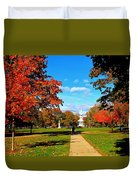 Fall In Guilford Duvet Cover