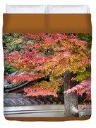 Fall In Japan Duvet Cover