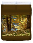 Fall In Kaloya Park 3 Duvet Cover