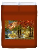 Fall In Kaloya Park 4 Duvet Cover