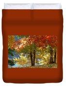 Fall In Kaloya Park 4 Duvet Cover