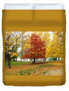 Fall In Kaloya Park 5 Duvet Cover