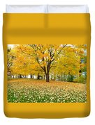 Fall In Kaloya Park 7 Duvet Cover