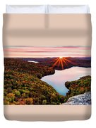Fall In Northern Vermont Duvet Cover